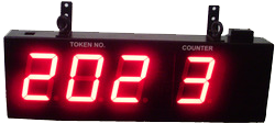 Bank Token Display Board