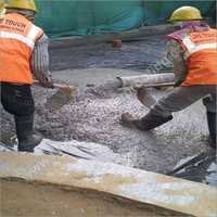 Protection Screed Over Waterproofing Work