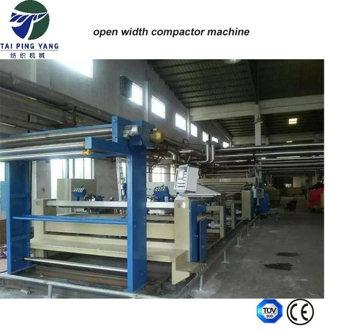 Knit Fabrics Open Compacting Machine