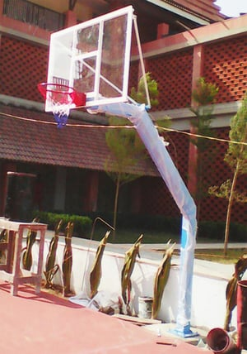 Fixed Basketball Post