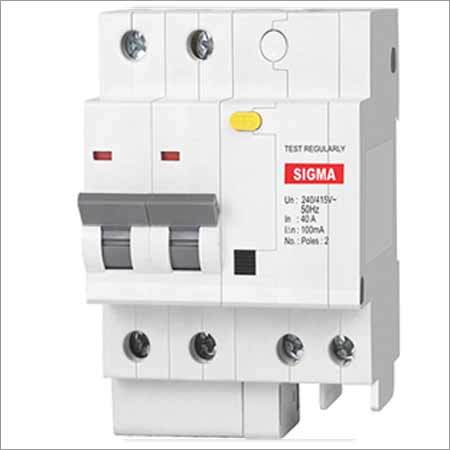 Residual Current Circuit Breaker With Overcurrent