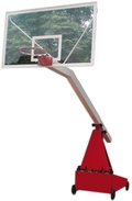 Hydraulic Height Adjustable Spring Lock System Basketball Post
