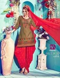 Patiala Designer Party Wear Salwar Kameez Suit