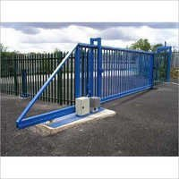 Motorized Industrial Sliding Gate