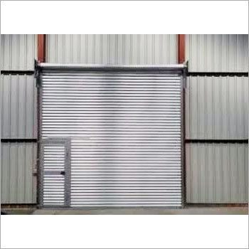 Industrial Wicket Shutter Gate