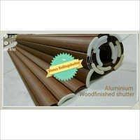 Aluminum Wood Finishing Rolling Shutters