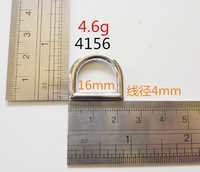 16mm D rings pass REACH ROHS text zinc alloy