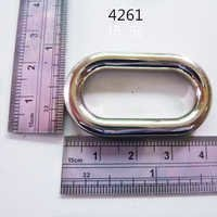 Egg Ring For Handbag Nickel Free Handmade Fittings