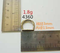 3Mm Thickness D Ring Leather Handmade Goods