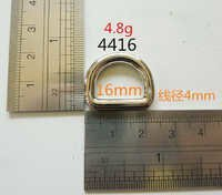 16Mm D Ring Zinc Alloy Eco Friendly Nickel Free