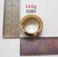grommet polished 15g pale gold hardware