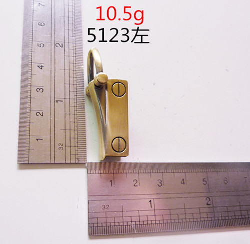 Custom Made Hardware For Handbag Antique Brass