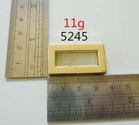 Leather Goods Fittings Square Ring Gold