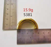 Handle Fittings Gold Leather Goods