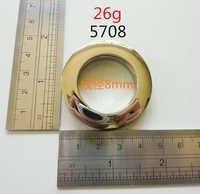 Thickness 8Mm Grommet Handbag Gold Shoes