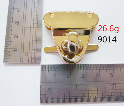 Tiwst Gold Lock Luxury Bags Hardware Good Quality