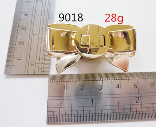 Metal Twist Lock Push Lock For Handbag Zinc Alloy
