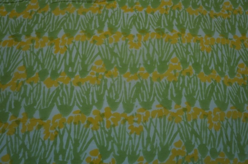 RAYON 60s MODAL HAND BLOCK PRINTED FABRIC
