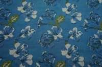 100% COTTON FLORAL PRINT FABRIC