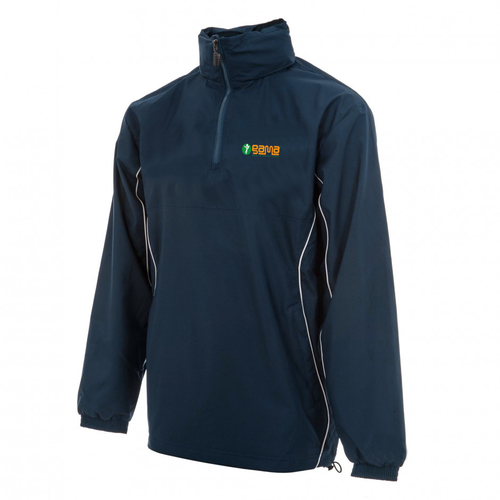 Micro pitch Jacket with Half Neck Zip