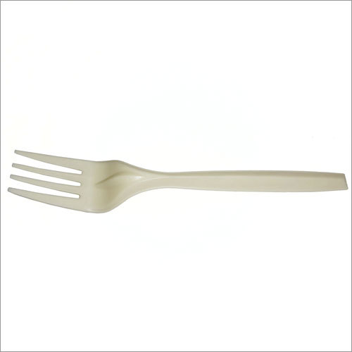 White Disposable Fork