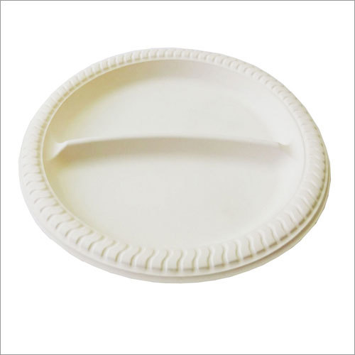 Biodegradable 8'' 2 Section Plate