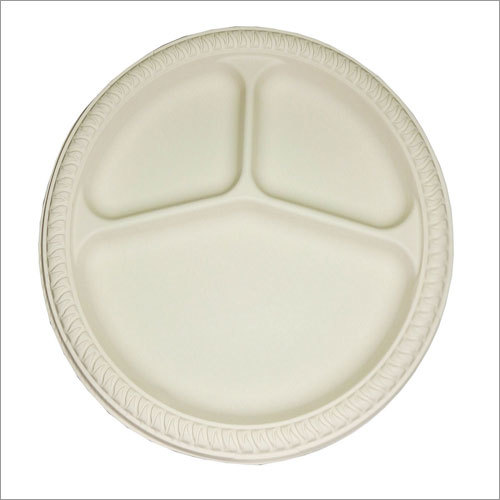 Biodegradable 10'' 3cp Plate