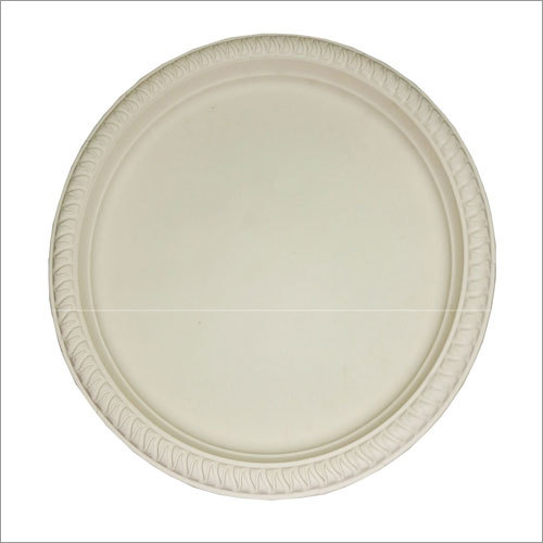 Biodegradable 12'' Plain Plate