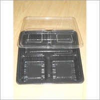 3 Section Tray with Lid