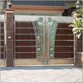 Stainless Steel Designer Grill Gate