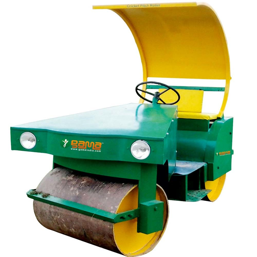 Cricket Pitch Petrol Cum Electric Roller (2 Ton)