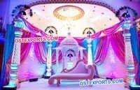 Rajwada Theme Wedding Fiber Stage Set