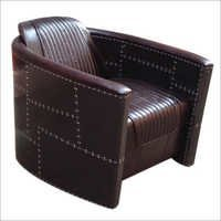 Black Aviator Sofa Chair