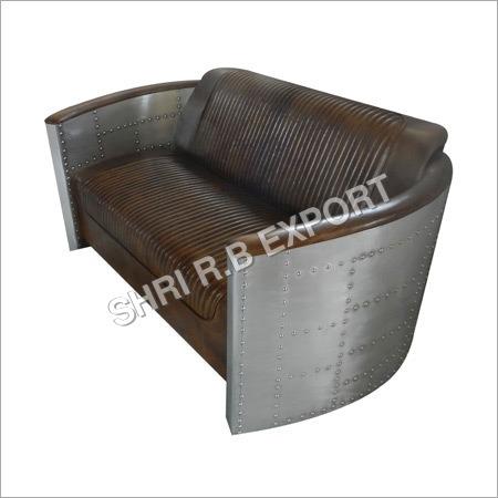 Aviator Sofa Chair with Leather