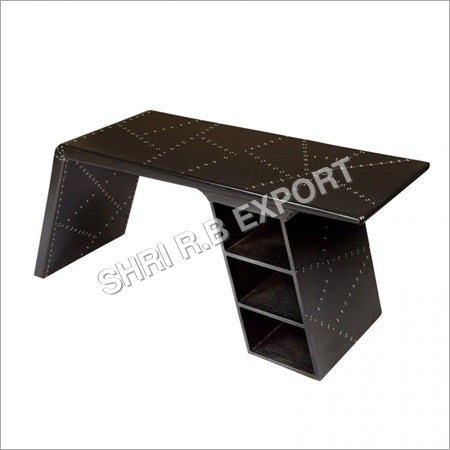 Aviator Black Office Table