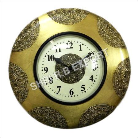 Emboss Work Clock