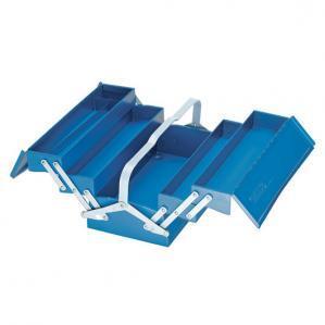Tool Box, Empty, 5 Compartments, 210x420x225 Mm