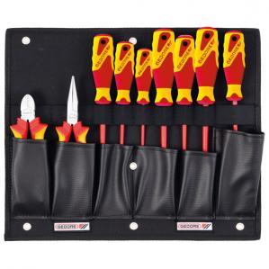 Tool board with VDE pliers/screwdriver assortment