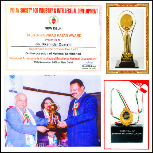 Rashtriya Vikas Ratan Award 2009