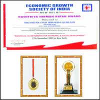 Rashtriya Nirman Ratan Award 2009