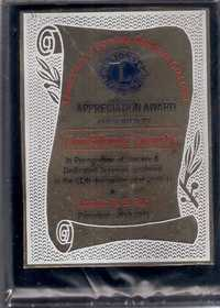 Certificate and Award 2010-11