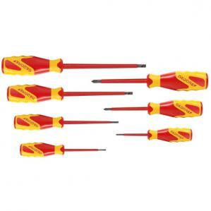 VDE Screwdriver set 7 pcs IS 2.5-6.5 PH 0-2