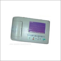 multi-channel digital ECG machine with measurement & interpretation Three channel model No.1203i