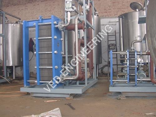 Paneer Heater Plate Heat Exchanger