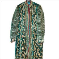 Velvet Dupion Silk Groom Coat