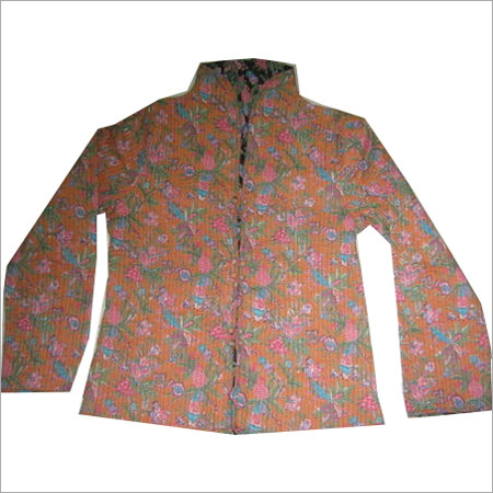 Silk Kantha Jacket