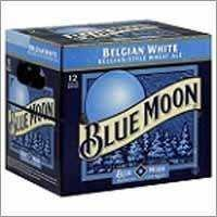 Blue Moon Beer Bottle