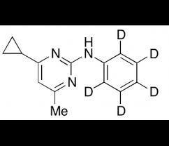 Cyprodinil-(phenyl-d5)