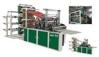 Automatic 3 Layer6 Send Heat Sealing Cold Cutting Bag Making Machine