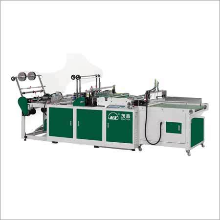 Double Channel Side Sealing Bag Making Machine